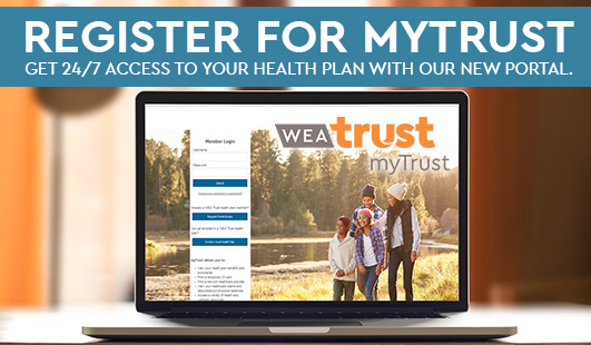 WEA MyTrust Login